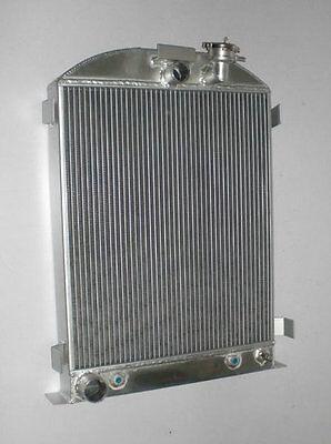 ALL ALUMINUM RADIATOR FORD Model 1937 1938 FORD V8 Engine 3 ROW Stock Height