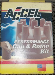 ACCEL #8220 CAP & ROTOR KIT FOR FORD V8 MOTORS 1957 to 75
