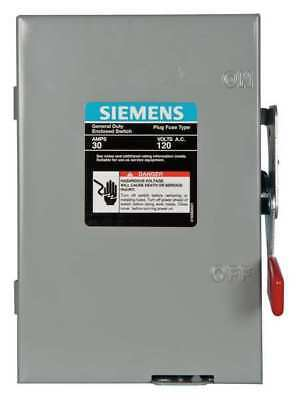 30 Amp 120240vac Single Throw Safety Switch 1p Siemens Lf111n