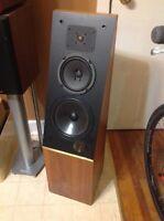Vintage Theile Model 04 speakers