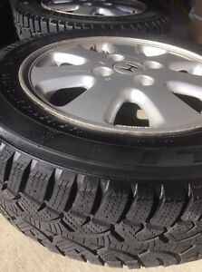 "15"" WANLI Winter Challenger Tires on Rims  Cambridge Kitchener Area image 2"