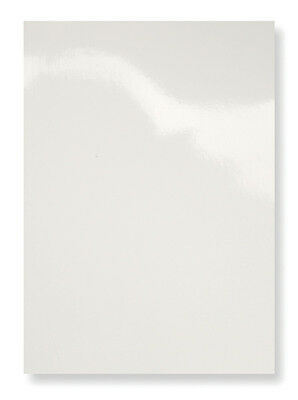 100 Einbanddeckel Deckblatt, Glanzkarton 250gr, CHROMOLUX weiß, DIN A4