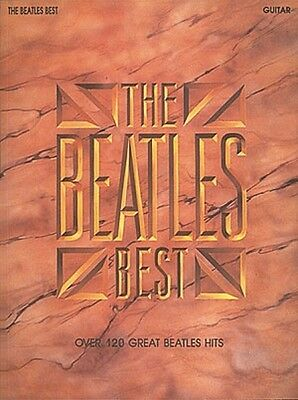 The Beatles Best Sheet Music Guitar Book NEW 000696081