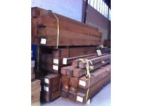 NEW Fence posts , 20 of each sizes and lengths, brown or green , POSSIBLE FREE DELIVERY