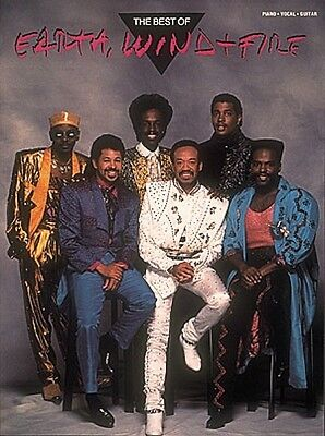 The Best of Earth Wind & Fire Sheet Music Piano Vocal Guitar Songbook  000356792 on Rummage