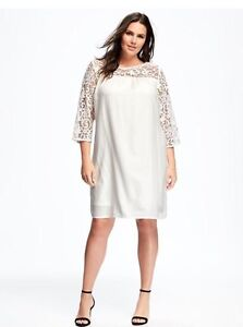 Plus Size White lace dress 4X Brand new, never worn  London Ontario image 1