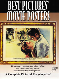 RARE BEST PICTURES MOVIE POSTERS REFERENCE ART BOOK OUT OF PRINT