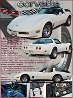 1980 show and Driver  collector corvette