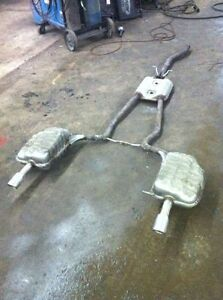 b6/b7 oem audi a4 stock exhaust