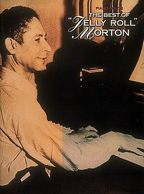 The Best of Jelly Roll Morton Sheet Music Piano Solo Book NEW