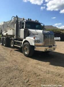 Volumetric Concrete Mixer Truck!......Reimer and Western Star