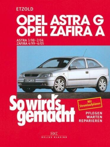 So wirds gemacht Opel Astra G und Zafira A