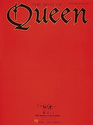 The Best of Queen Sheet Music Piano Vocal Guitar Songbook NEW 000308244
