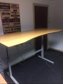 Height adjustable Sit Stand Desk - Excellent Condition