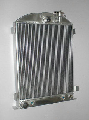 ALL ALUMINUM RADIATOR FORD Model 1935 1936 FORD V8 Engine 3 ROW Stock Height