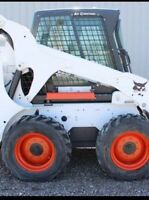 Bobcat snow removal for hire or contract