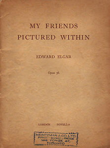 MY FRIENDS PICTURED WITHIN Opus 36 by Edward Elgar