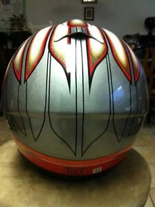 M2R MR-1500 CHIEF HELMET 1 SIZE M AND 1 SIZE L Windsor Region Ontario image 5