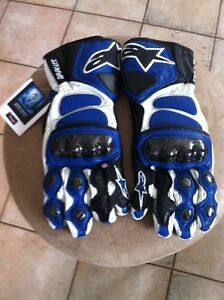 ALPINESTARS GP PLUS GLOVES NEW SIZE M Windsor Region Ontario image 2