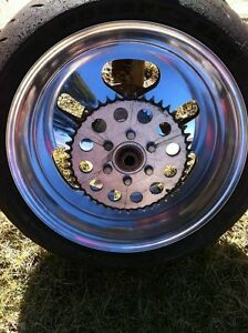 PERFORMANCE MACHINE REAR WHEEL COMPLETE CBR,GSXR ZX10R R1 R6 Windsor Region Ontario image 4