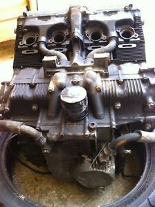 GSXR750 91 ENGINE WITH THE OIL LINES Windsor Region Ontario image 8