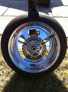 PERFORMANCE MACHINE REAR WHEEL COMPLETE CBR,GSXR ZX10R R1 R6 Windsor Region Ontario image 5