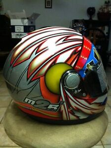 M2R MR-1500 CHIEF HELMET 1 SIZE M AND 1 SIZE L Windsor Region Ontario image 6