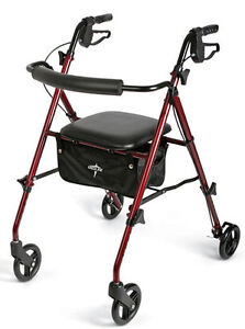 MEDLINE-Freedom-Ultralight-Lightweight-Folding-Rollator-Rolling-Walker-FAST-SHIP