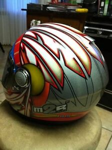 M2R MR-1500 CHIEF HELMET 1 SIZE M AND 1 SIZE L Windsor Region Ontario image 3
