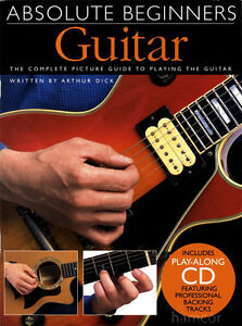 Absolute Beginners Guitar Learn How to Play Guitar Tutor Method Book with CD