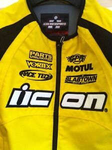 REDUCED NEW ICON MOTORCYCLE JACKET NEW #2