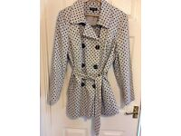 Debenhams collection spotted Mac/ raincoat size 18 as new