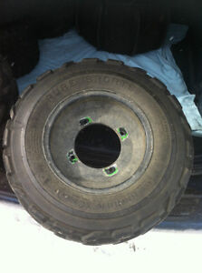 YAMAHA BLACK ITP FRONT WHEELS WITH PURE SPORTS TIRES Windsor Region Ontario image 9