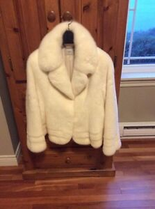 Authentic fox fur winter coat