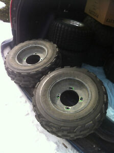 YAMAHA BLACK ITP FRONT WHEELS WITH PURE SPORTS TIRES Windsor Region Ontario image 8