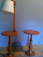 Roxton side table(s) with lamp