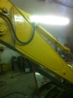 Heavy equipment mobile welding repairs
