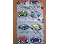 NEXT blue cars traffic jam blackout curtains 66 x 54