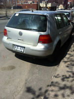 2000 Volkswagen Golf GLS Berline  158xxxkm