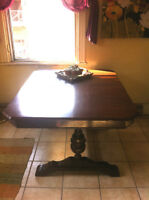 Beautifully refinished table