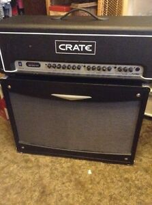 Reduced-Crate 2 piece Amp set  -New phone number