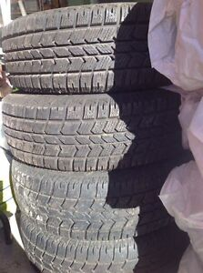 Winter tires and rims for 1999-2004 Odyssey $375 West Island Greater Montréal image 1