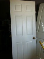 3 Identical White Doors - good condition