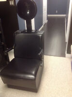 Belvedere commercial hair dryer and chair