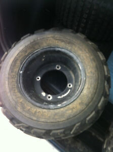 YAMAHA BLACK ITP FRONT WHEELS WITH PURE SPORTS TIRES Windsor Region Ontario image 7