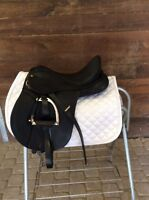 Child's 15in Black Synthetic Wintec Saddle