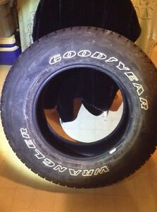 Goodyear wrangler AT with Kevlar  Size  LT 275/65R18E