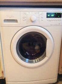 Whirlpool 7kg 1400 eco washer