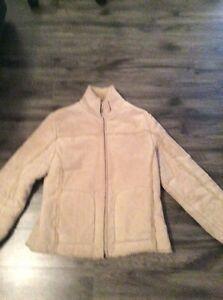 Manteau d'hiver en cuir