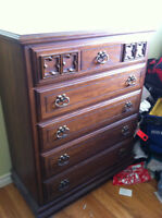 Solid Wood Dressers